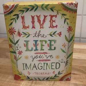 🛍  Live the Life You Imagined Art
